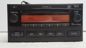 2004 2006 Toyota Matrix Am Fm Radio Cd Oem A51816 86120 02400 Bay6