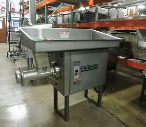 Hobart 4146 Commercial Stainless Steel 5hp Meat Grinder 200v