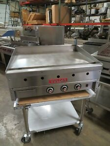 Vulcan 936a msa36 Commercial Griddle Heavy Duty Natural Gas 36 w