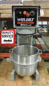 Welbilt Varimixer W40p Commercial 40 Qt Planetary Mixer With 3 Attachments