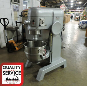 Hobart H600 Commercial 60 quart All Purpose Mixer W 60qt Bowl 1 Phase 220v