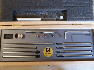 Nib New 54 930 215 Fowler Sylvac Hi Cal Height Gage Deluxe Probe Scribe Set