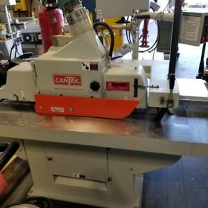 Cantek Model Rs14n Glue Line Ripsaw