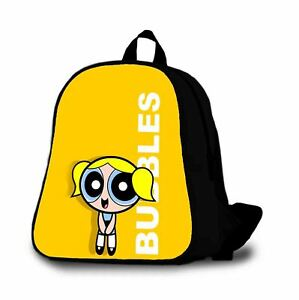The Powerpuff Girls Bubbles Custome Backpack Kids Bag