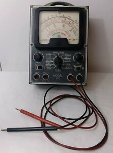 Ohms Meter Superior Instruments Co Model 670 Vintage Tube Type s3