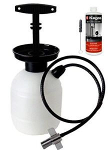 Kegco Kc Pck32 Deluxe Hand Pump Pressurized Keg Beer Cleaning Kit With 32 Oz