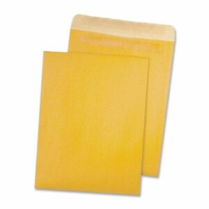 Quality Park 100 Recycled Kraft Catalog Envelope 10 Inches X 13 Inches Redi