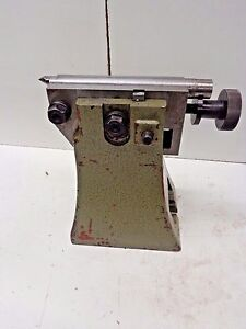 Tailstock For Rotary Table Etc 9 Center Height Stk 14699n