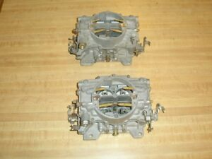 Mopar 1963 Max Wedge 413 Engine Carter Afb 3447 Carburetors Date Code C3