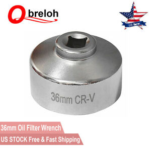 Oil Filter Socket Housing 36mm Wrench 3 8 For Land Rover Lr2 And Range Rover