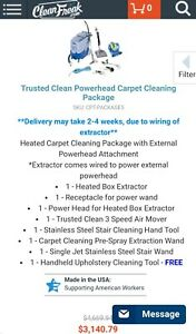 Used Carpet Cleaning Machine