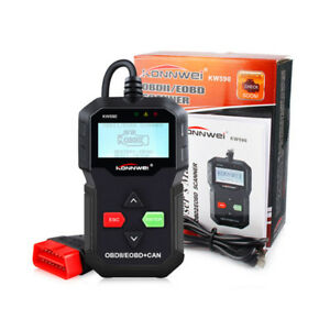 Kw590 Obd2 Diagnostic Tools Eobd Can Interface Code Readers For Honda Buick Opel