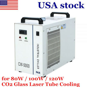 Us s a Cw 5000 Industrial Water Chiller For 3w 5w Ultraviolet Laser Instrument