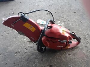 New Hilti Hand Held Gas Saw Dsh 900 x 16 Inches Concrete Saw And More