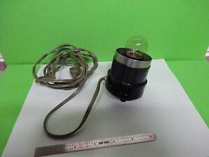 Microscope Part Olympus Japan Lamp Holder untested Optics As Is Bin v8 31