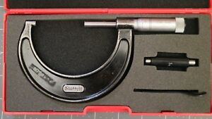 Nice Starrett 436 F 3 2 3 outside Micrometer W case Made In Usa
