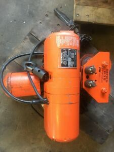 Cm Electric Chain Hoist 1 4 Ton Model B