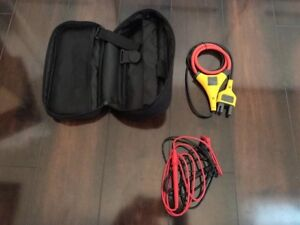 New Fluke Iflex I2500 10 Flexible Current Probe Case And Leads