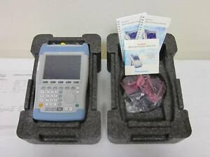 New Rohde Schwarz Fsh18 10mhz 18ghz Handheld Spectrum Analyzer