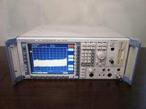Rohde Schwarz Fsu26 20 Hz 26 5 Ghz Spectrum Analyzer W Options K5 k72 k74