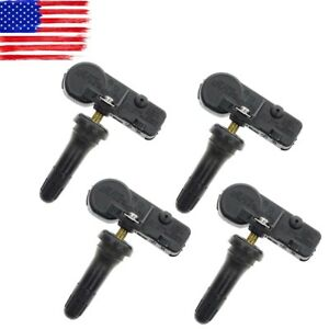 4x Acdelco 13581558 Gm Oem Tpms Tire Pressure Sensor Monitoring System Chevrolet