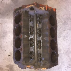 1968 Chevrolet 327 Sbc Engine Block 3914660 I 2 7 Standard