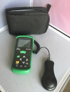 Cem Dt 1308 Deluxe 400k Lux Digital 4 digit Lcd Light Meter