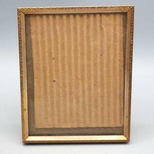 Vintage Picture Frame Metal Goldtone For 4 X5