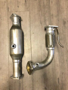 2004 2008 Acura Tsx 2 4l Front Flex Pipe And Catalytic Converter