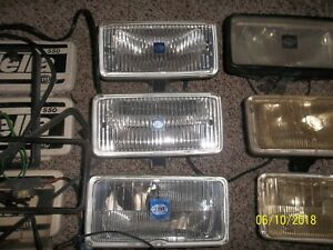 Hella 550 Series Driving Fog Lights Lot Of 6 Misc Condition