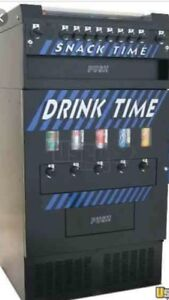 New Snack Drink Time Vending Machine Quarters Only