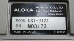 Aloka Ust 9124 Transvaginal Probe