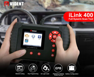 Ilink400 Obd Immobilizer Dpf Abs Full System Diagnostic Scanner 1 Free Software