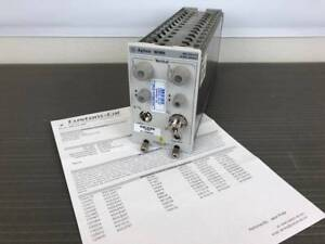 Agilent 86109a 30ghz Optical 40ghz Electrical Module 86100a b c d Calibrated