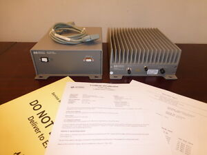 Agilent 83020a 87422a Microwave System Amplifier W Power Supply 2ghz 26ghz