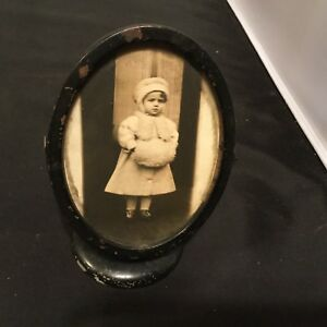 Vintage Oval Table Top Picture Frame 1910 S Rotates