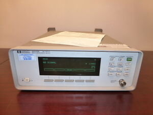 Hp Agilent 86120b 700 1650 Nm Multi wavelength Meter Calibrated
