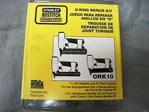Bostitch O ring Repair Kit Ork10 S32 Stapler Bt Brad Nailer Tacker n o s