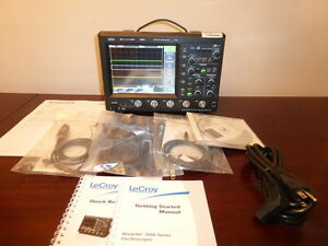 Lecroy Teledyne Wavejet 354a 500mhz 2gs s 4ch Oscilloscope With Std Accy s