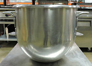 Hobart 30 60 80 Qt Commercial Stainless Steel Mixer Bowl
