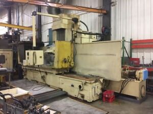 Cnc Surface Grinder 24 X 72 Mattison Fanuc 0 gs Emc Ipdf 30hp 20 Wheel