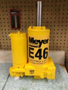 Meyer Snow Plow E46 Hydraulic Plow Pump Sand Blasted Complete Rebuild