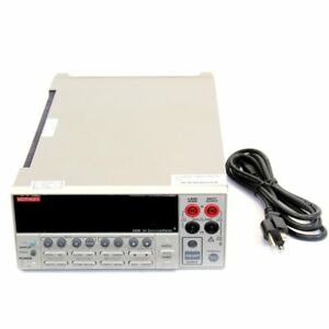 Keithley 2420 High current Sourcemeter 60v 3a 60w 5 5 digit Resolution
