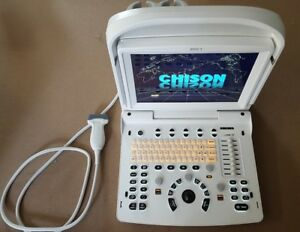 2016 Chison Eco 3 Portable Ultrasound System With L7m a Transducer probe