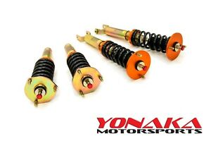 Yonaka Honda Prelude 92 01 Spec 2 Coilovers Lowering Kit Bb1 Shocks Springs