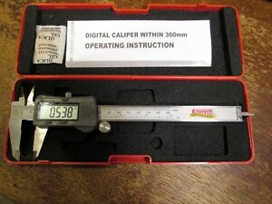 Spi 50th Anniversary Digital Caliper W Case 150mm 0 6 Digital