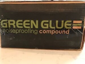 Green Glue Noiseproofing And Damping Compound Case Of 12 Tubes