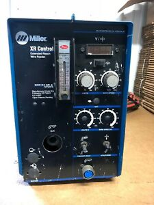 Miller Xr Control Extended Reach Wire Feeder With Xr edge 30 Amp Push Pull Gun