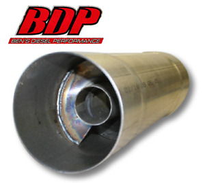 Fte Resonator Muffler 4x30 For 4 Exhaust Piping Rm4430a