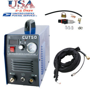 Cut 50 Inverter Digital Air Cutting Machine Plasma Cutter Machine Usa Ship